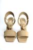 Immagine di Sandalo punta quadrata con  lacci